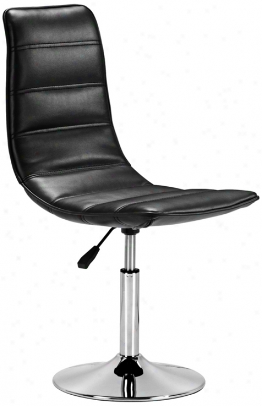 Zuo Hydro Leisure Black Chair (t2566)