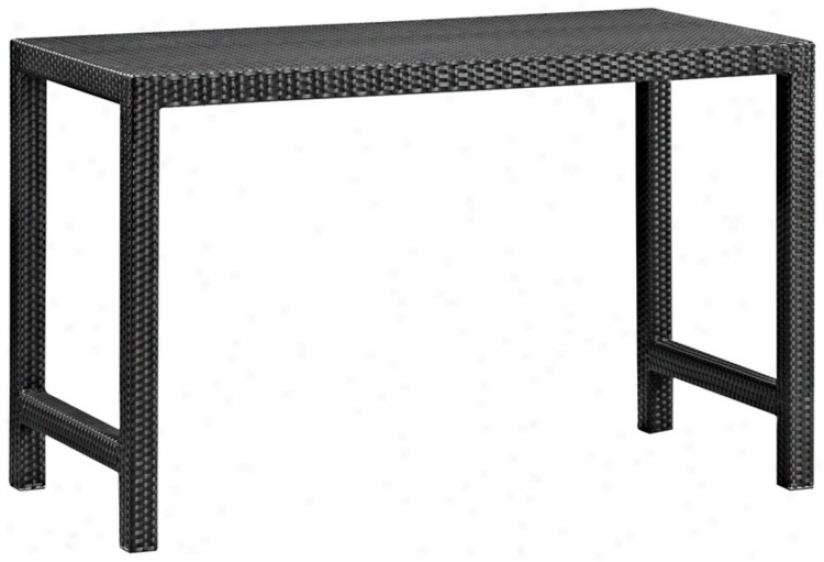 Zuo Moern Anguilla Aluminum Oytdoor Bar Table (m4248)