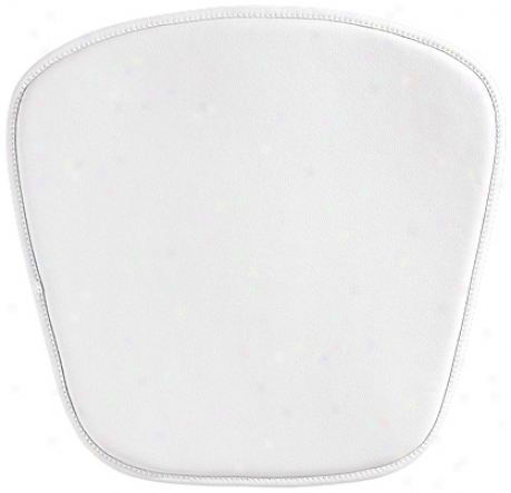 Zuo Modern Wire/mesh Leatherette White Seat Cushion (v9564)