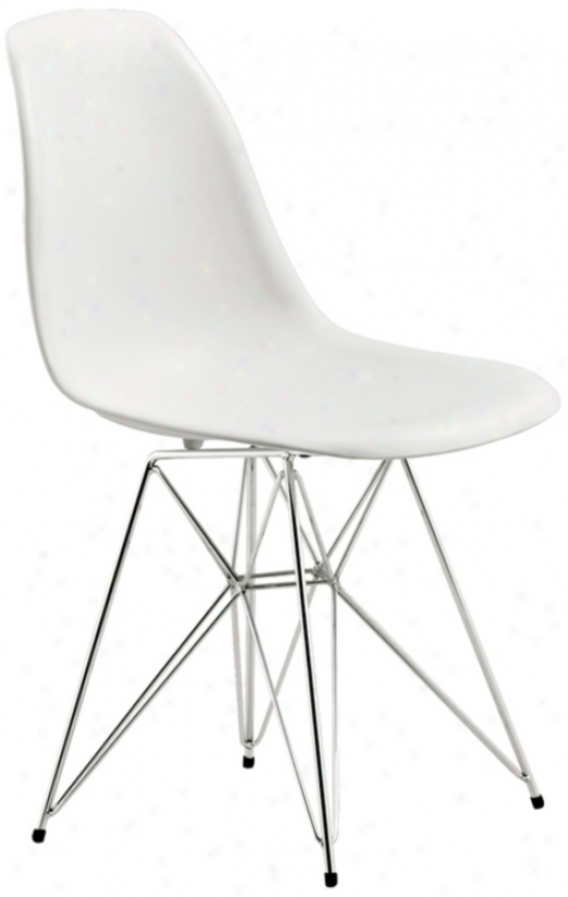 Zuo Spire White Dining Chair (m7351)