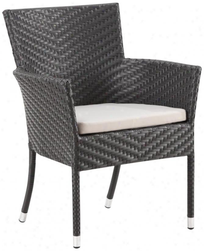 Zuo Valtos Exterior Arm Chair (r8252)