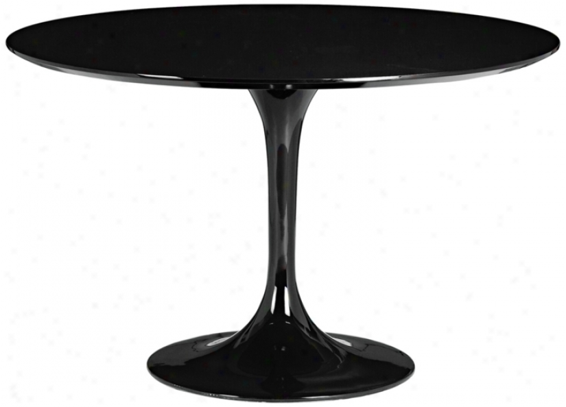 Zuo Wilco Black Dining Slab (m7360)