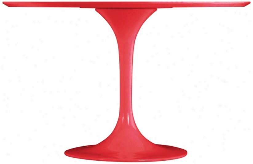 Zuo Wilco Red Dining Table (r8276)