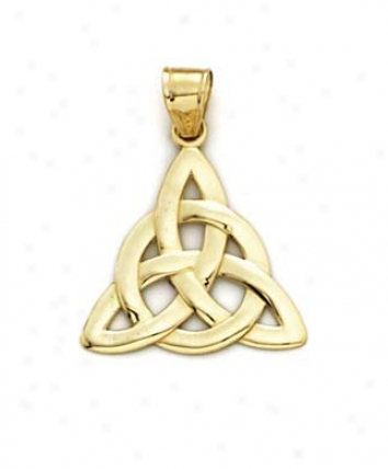 14k Celtic Knot Pendant
