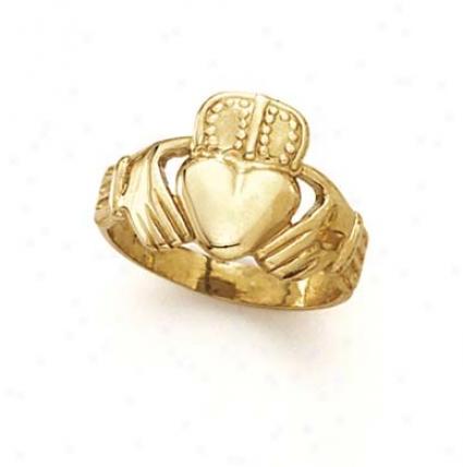 14k Claddagh - Ring