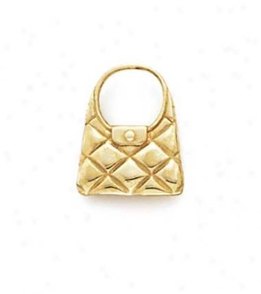 14k Handbag Pendant
