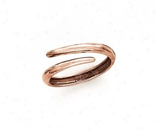 14k Rose Tango Style Ring