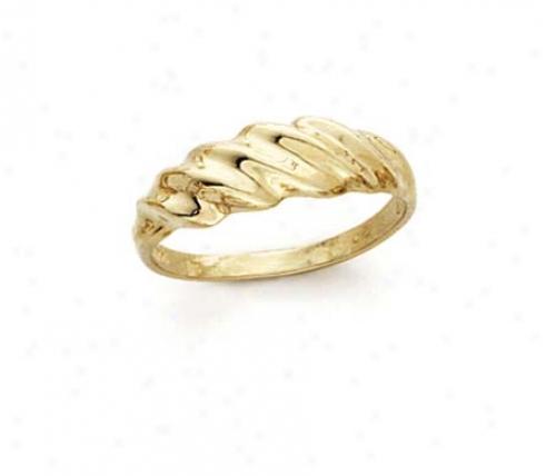 14k Shrimp Style - Ring