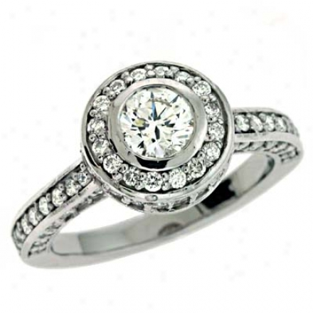 14 kWhite 1.44 Ct Diamond Engagement Tingle