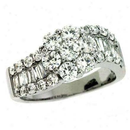 14k Pure Trendy 1.83 Ct Brilliant Ring