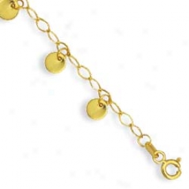 144k Yellow Drop Disks Anmlet - 10 Inch