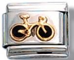 Bicycle Italian Charm Link