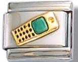 Cell Phone Italian Charm Link