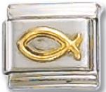 Christ Italian Charm Ring