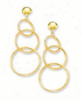 Circular Dorp Earrings