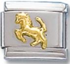 Horse Italian Charm Link