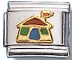House Italian Charm Link