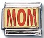 Mom Italian Charm Link