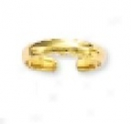 Simply Polished Yeloow Toe Ring