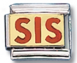 Sis Italian Charm Link