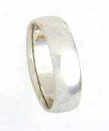 Size 10.00 - 6.0mm Comfort Fit Wedding Band
