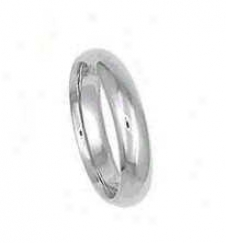 Size 11.00 - 4.0mm Comfort Fit Wedding Band