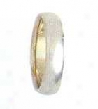 Size 7.00 - 4.0mm Comfort Fit Wedding Band