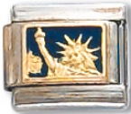 Statue Of Liberty Italian Charm Link