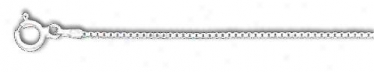 Sterling Silver 30 Inch X 1.2 Mm Blow Chain Necklace