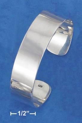 Sterling Silver High Polish 16mm Blow