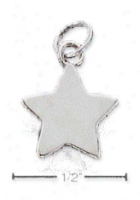 Sterling Silver Star Box Charm