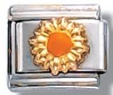 Sun Italian Charm Link
