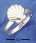 Sterling Silver Scallop Shell Rinng