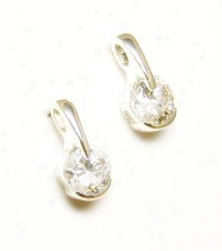 Unusual Cubic Zirconia Cz Earrings