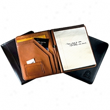 Andrew Philips Leather Goods  Deluxe Document Pad Holder
