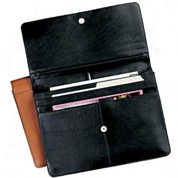 Andrew Philips Leather Goods  Underarm Portfolio