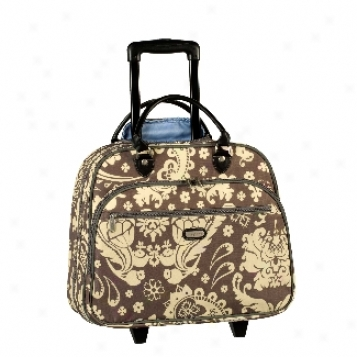 Baggallini Nylon Bags Printed Rolling Tote