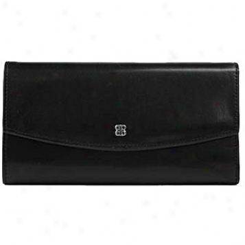 Bosca Leather Wallets / Accessories Checkless Checkbook Clutch