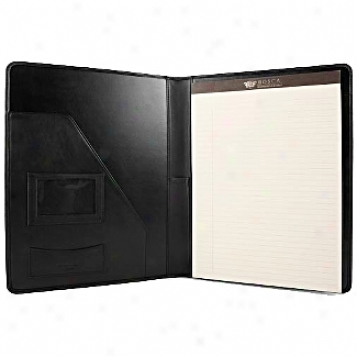 Bosca Leather Wallet / Accessories Legal Pad Portfolio