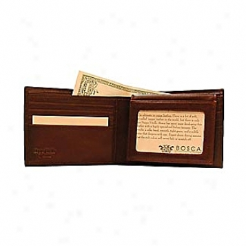 Bosca Leather Wallets / Accessories Nappa Vittello Id Passcase Wallet