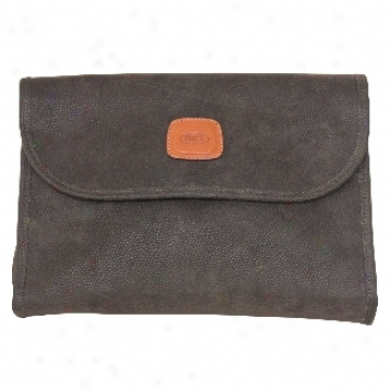 Brics Life Collection - Luggage Tri-fold Traveler Toiletry Case