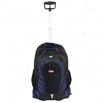 Calpak Roling Backpacks Diplomat 21in. Choose Pole Rolling Backpack