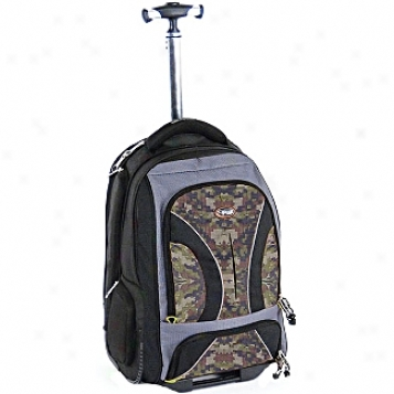 Calpak Rolling Backpacks Vega 18in. Rolling Laptop Backpack