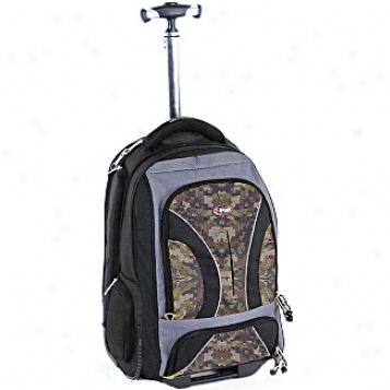 Calpak Rolling Backpacks Vega 18in. Rolling Laptop Backpack