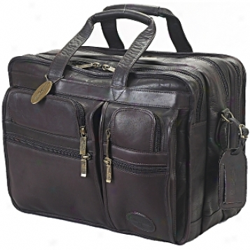 Claire Chase First Class Luggage Executive Computer Brief X-wide
