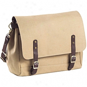 Clava Leather Bags Canvas/leather Messenger Bag