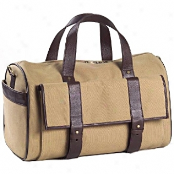Clava Leather Bags Canvas/leather Pocket Duffel