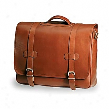 Clava Leather Bags Executive Wave Porthole Briefcase