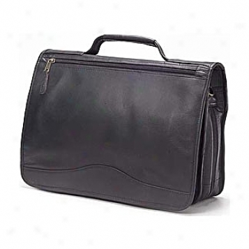 Clava Leather Bags Expandable Briefcase