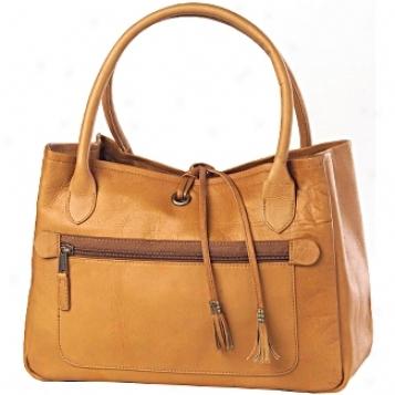 Clava Leather Bags Tassel Handbag
